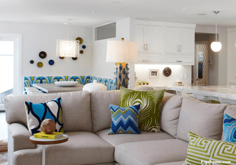 Ornamental Throw Pillows And Bolsters