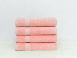 pink bath towels walmart