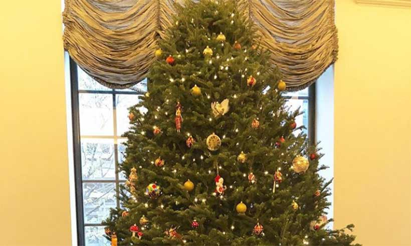Fashionable Residence Decoration on Christmas
