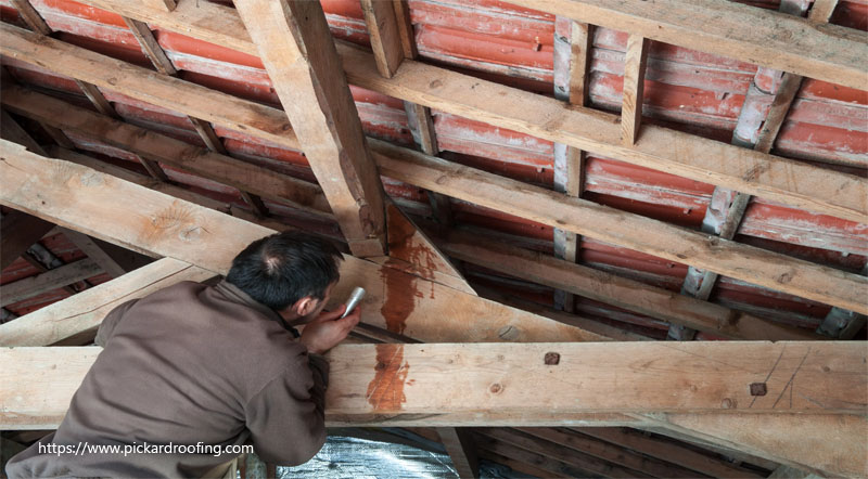 Causes of Roof Leaking