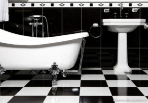 Why Black and White Will Work For Your Bathroom