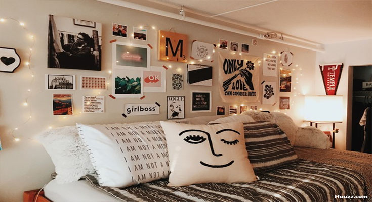 Hot Dorm Room Bedding Ideas - Show Sorority Pride