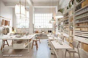 Unique and Trendy Industrial Workspace Interior Design